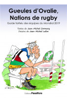 Gueules d ovalie, nations de rugby